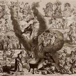 """sabba alto medioevo. Immagine tratta dal libro """"Storia popolare della Francia"""", 1860."""