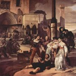 I vespri Siciliani , dipinto di Francesco Hayez (1846)